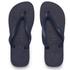 Havaianas Unisex Top Flip Flops - Navy Blue: Image 1