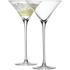LSA Cocktail Glass 275ml Clear (Set of 2): Image 1