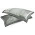 Catherine Lansfield Gatsby Pillowcase - Pair - Silver: Image 1