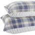 Catherine Lansfield Tartan Housewife Pillowcase - Pair - Navy: Image 4