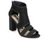 Kat Maconie Women's Georgia Leather Cut Out Heeled Sandals - Black: Image 5