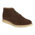 YMC Men's Crepe Sole Zip Front Suede Chukka Boots - Brown: Image 5