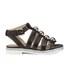 Markus Lupfer Women's Nappa Silver Balls Sandals - Black: Image 1