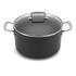 Le Creuset Toughened Non-Stick Deep Casserole Dish with Glass Lid - 24cm: Image 1