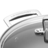 Le Creuset Toughened Non-Stick Deep Casserole Dish with Glass Lid - 24cm: Image 3