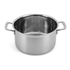 Le Creuset 3-Ply Stainless Steel Deep Casserole Dish with Lid - 24cm: Image 2