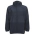 French Connection Men's Hooded Running Jacket - Blue: Image 1