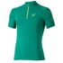 Asics Men's 1/2 Zip Running T-Shirt - Jungle Green: Image 1