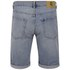 Cheap Monday Men's 'High Cut' Denim Shorts with Fold-Up - Sky: Image 2