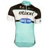 Etixx Quick-Step Replica Kids' Short Sleeve Jersey - Black/Blue: Image 1
