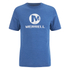 Merrell Men's Vintage Stacked Logo T-Shirt - Tahoe Heather Blue: Image 1