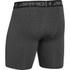Under Armour Men's Armour HeatGear Compression Training Shorts - Carbon Heather/Black: Image 2