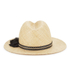 French Connection Women's Annie Fedora - Natural: Image 4