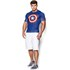 Under Armour Men's Captain America Compression Short Sleeved T-Shirt - Blue/Red/White: Image 3