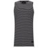 Religion Men's Marley Stripe Vest - Black/White: Image 1