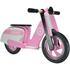 Kiddimoto Stripe Scooter - Pink: Image 1