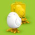 Egg-A-Matic Chick Egg Mould - Yellow: Image 1