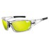 Tifosi Dolomite 2.0 Clarion Mirror Sunglasses - Crystal Clear/Clarion Yellow: Image 1