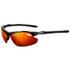 Tifosi Tyrant 2.0 Clarion Mirror Sunglasses - Gloss Black/Red: Image 1