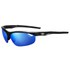 Tifosi Veloce Clarion Mirror Sunglasses - Gloss Black/Clarion Blue: Image 1