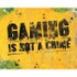 Gaming Is Not A Crime - Mini Poster - 40 x 50cm: Image 1