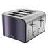 Swan ST17010PLUN 4 Slice Toaster - Plum: Image 1