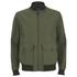Knutsford Men's 'Made in England' Cotton Zip-Through Bomber Jacket - Lovat/Khaki: Image 1