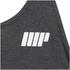 Myprotein Men's Longline Stringer Vest, Charcoal: Image 3