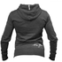 Better Bodies NY Hood Sweatshirt - Antracite Melange: Image 2