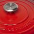 Le Creuset Signature Cast Iron Round Casserole Dish - 28cm - Cerise: Image 3