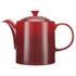 Le Creuset Stoneware Grand Teapot, 1.3L - Cerise: Image 1