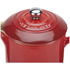Le Creuset Stoneware Cafetiere Coffee Press - Cerise: Image 3
