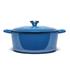 Le Creuset Signature Cast Iron Round Casserole Dish - 28cm - Marseille Blue: Image 4