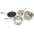 Le Creuset 3-Ply Stainless Steel Non-Stick 4 Piece Cookware Set: Image 2