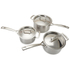 Le Creuset 3-Ply Stainless Steel 3 Piece Saucepan Set: Image 2