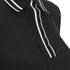 rag & bone Women's Dana Polo Shirt - Black: Image 3