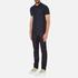J.Lindeberg Men's Rubi Short Sleeve Polo Shirt - Navy: Image 4