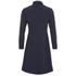 Wood Wood Women's Anita High Neck Dress - Dark Navy: Image 2
