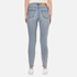 Cheap Monday Women's Donna High Rise Cropped Jeans - Dream: Image 3