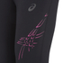 Asics Women's Stripe Running 3/4 Tights - Performance Black/Pink Glow: Image 5