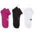 Asics 3 Pairs Pack Crew Running Socks - White/Black/Grey: Image 1