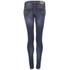 Nudie Jeans Women's Skinny Lin Denim Jeans - Compact Cloud: Image 2