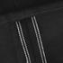 Edwin Men's ED80 Slim Tapered White Listed Selvedge Denim Jeans - Black: Image 7