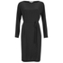 Helmut Lang Women's Blouson Long Sleeve Dress - Black: Image 1