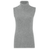 French Connection Women's Abel Knits High Neck Jumper - Grey Melange: Image 1