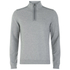 BOSS Green Men's Sweatshirt 1 Nylon Combi Hoody - Grey: Image 1