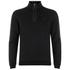 BOSS Green Men's Sweatshirt 1 Nylon Combi Hoody - Black: Image 1