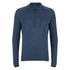 Merrell Fraxion Balaclava Half Zip Top - Legion Blue Heather: Image 1