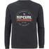 Rip Curl Men's Big Mama Circle Crew Neck Sweatshirt - Black: Image 1