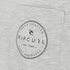 Rip Curl Men's Zinc Pocket T-Shirt - Off White Marl: Image 3